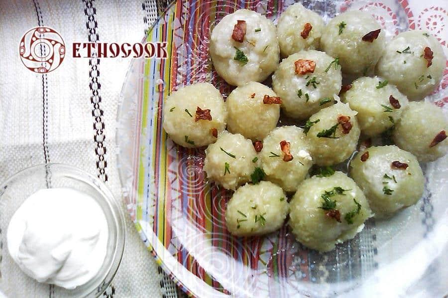 Книдлі з вареної картоплі рецепт с фото