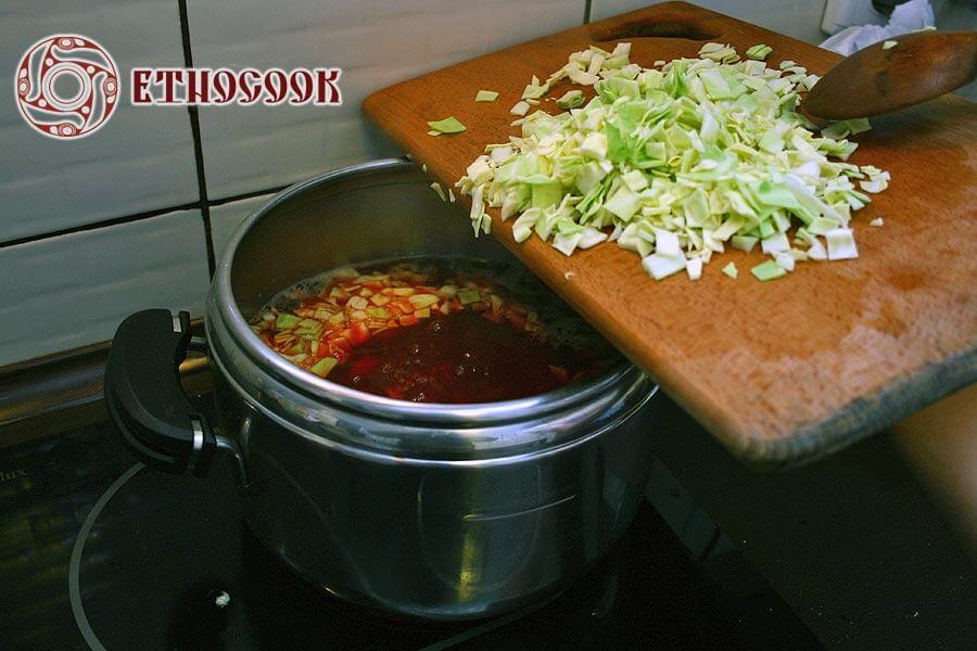 14 cabbage in borshch