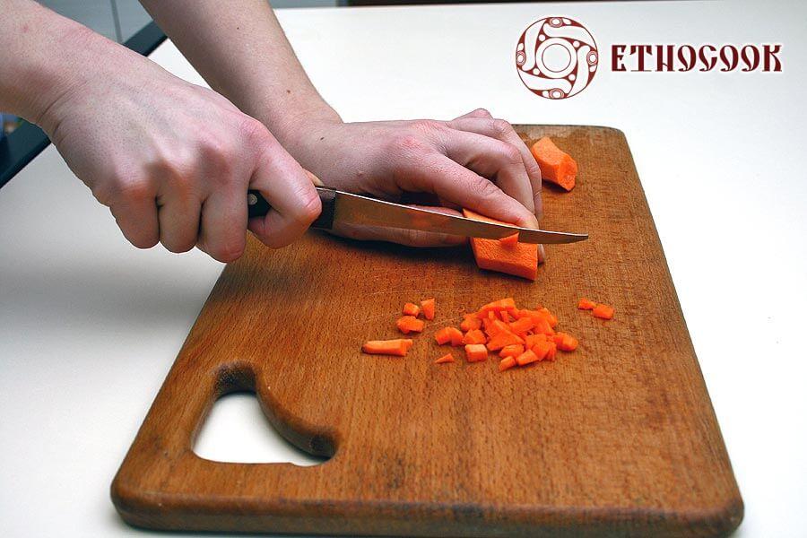 9 carrot for borshch