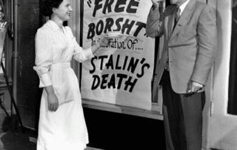безкоштовний борщ з приводу смерті Сталіна